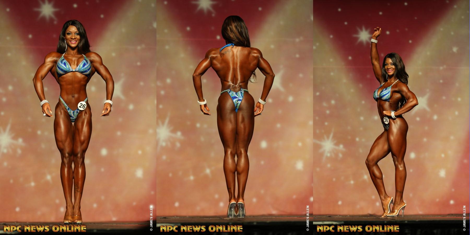 Candice Lewis - чемпионка Phil Heath Pro - 2016 в разделе «фигура»