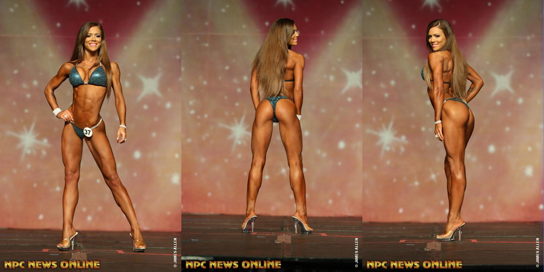 Margret Gnarr - чемпионка Phil Heath Pro - 2016 в категории «бикини»