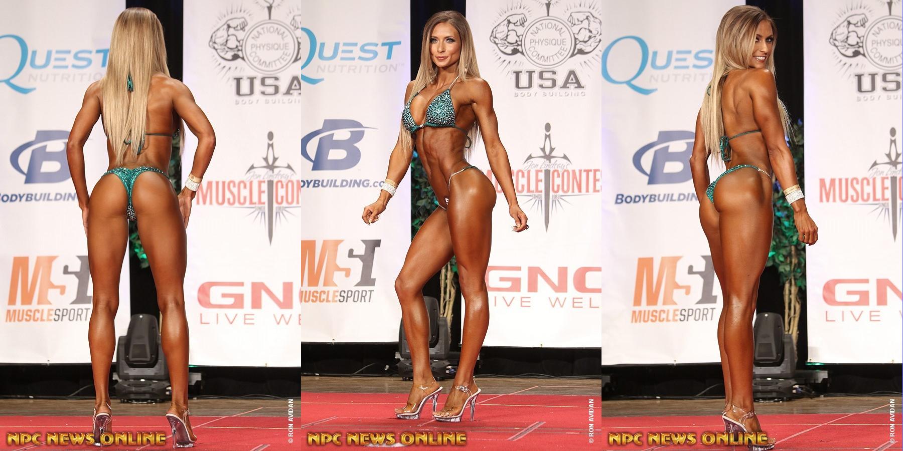 Alyssa Germeroth - чемпионка турнира в разделе «бикини»
