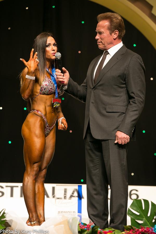 Oksana Grishina Arnold Australia Fitness Winner