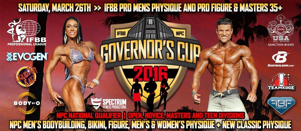 IFBB PRO California Governors Cup - 2016