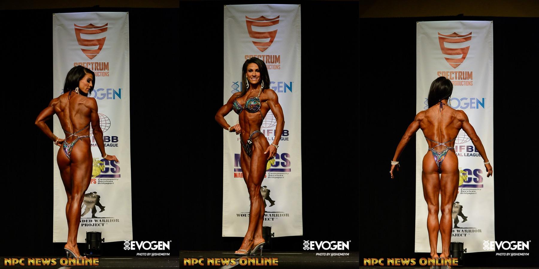 Carly Sparling Horrell - чемпионка IFBB PRO California Governors Cup - 2016 в категориях фигура и фигура мастера