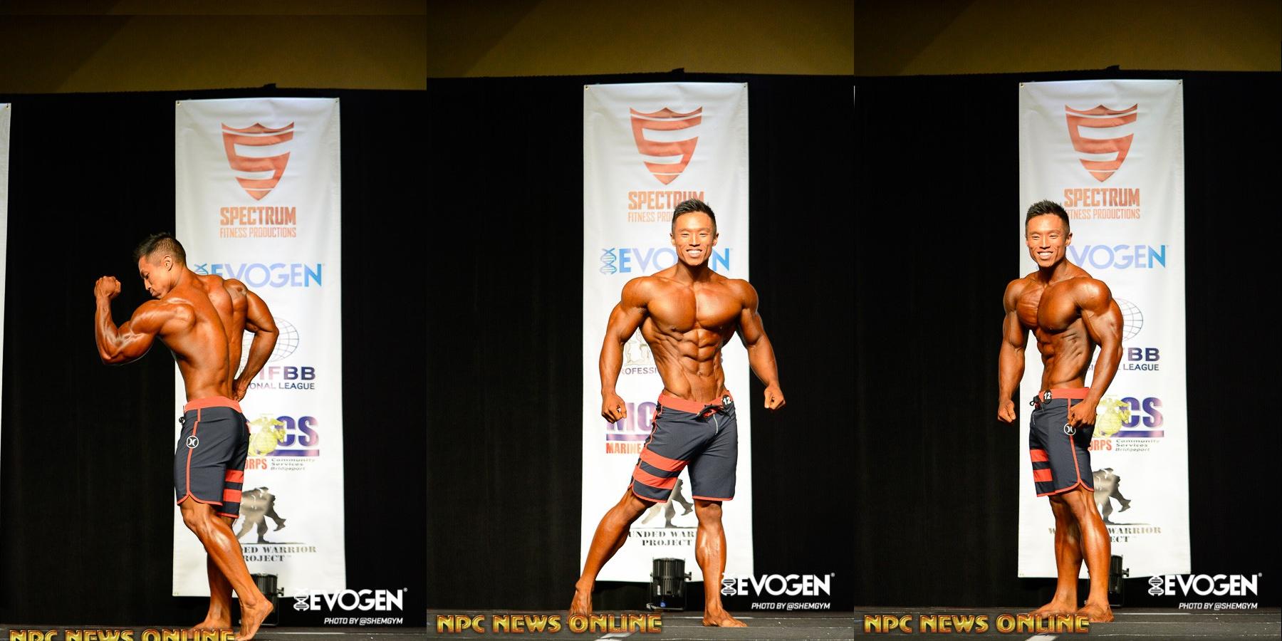 Joseph Lee - чемпион IFBB PRO California Governors Cup - 2016 в категории мужской физик