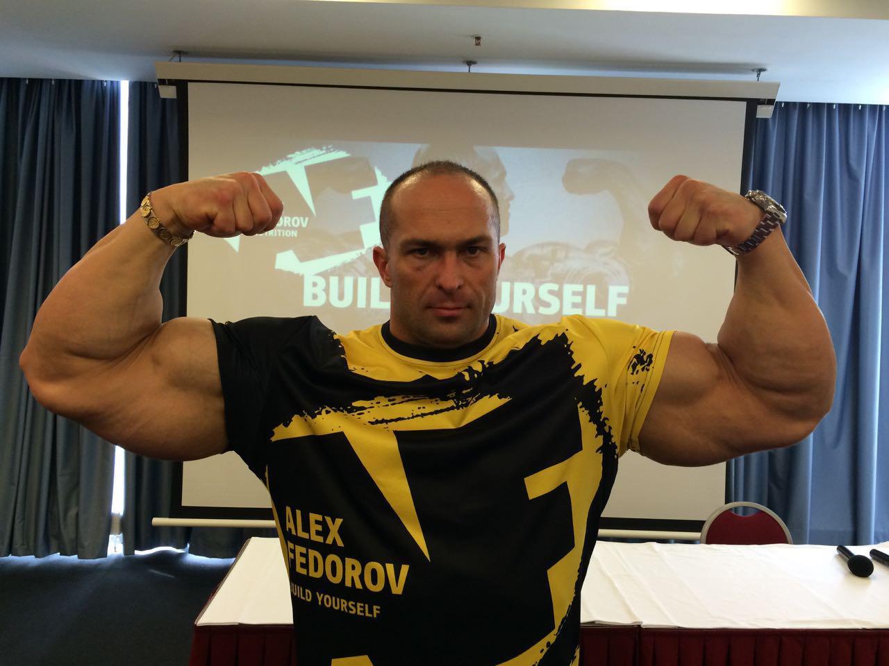«AF Nutrition» - спортивное питание от Александра Федорова