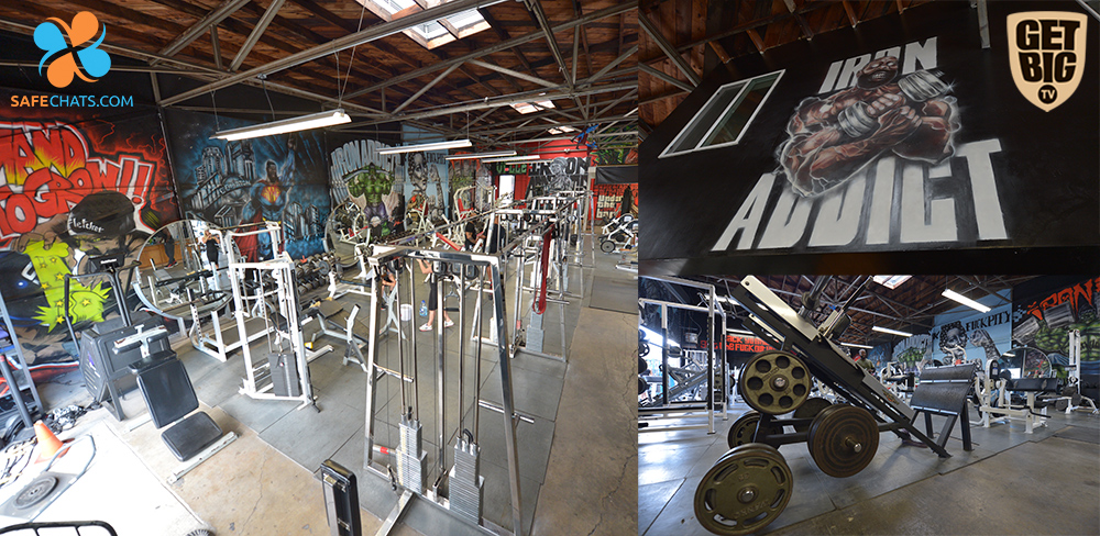 Iron Addicts Gym - зал СиТи Флетчера в Калифорнии