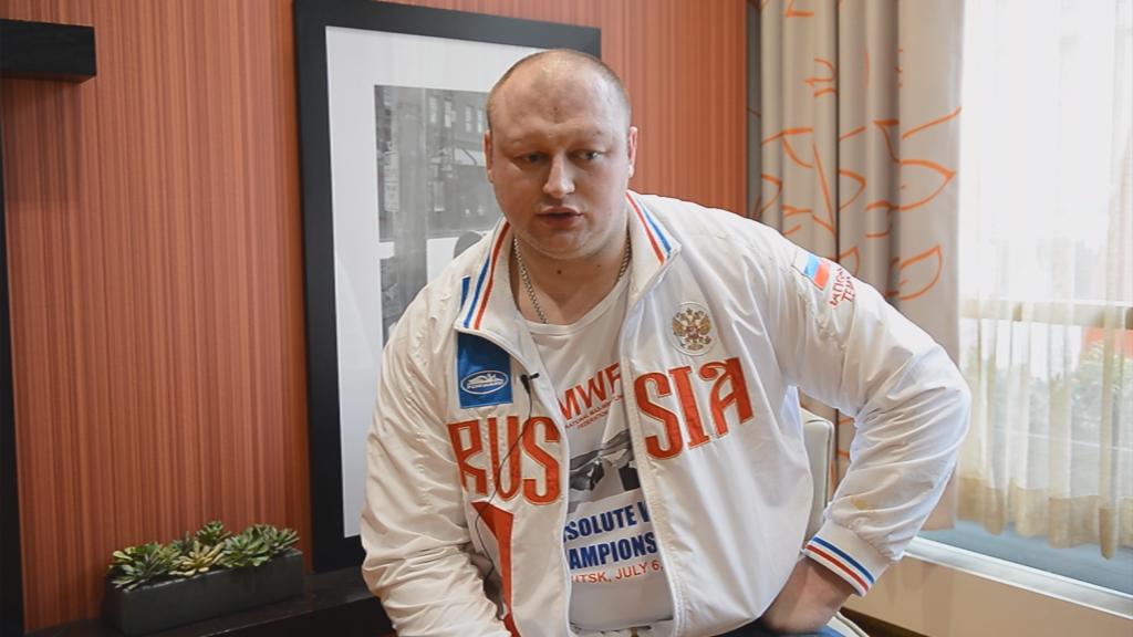 Виктор Колибабчук - чемпион мира по мас-рестлингу
