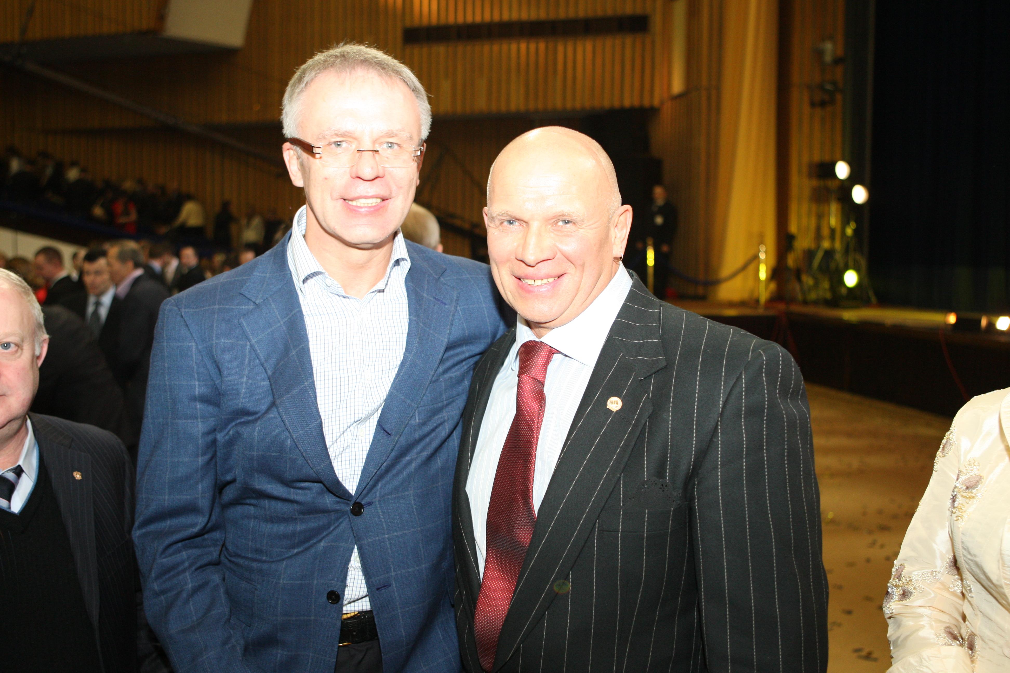 С Вячеславом Фетисовым