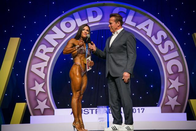 Оксана Гришина - чемпионка Арнольд Классик Австралия - 2017