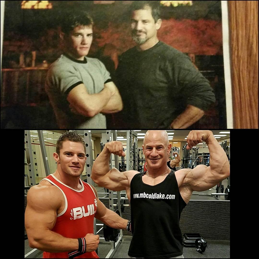 Разница между верхним и нижнем фото - 13 лет