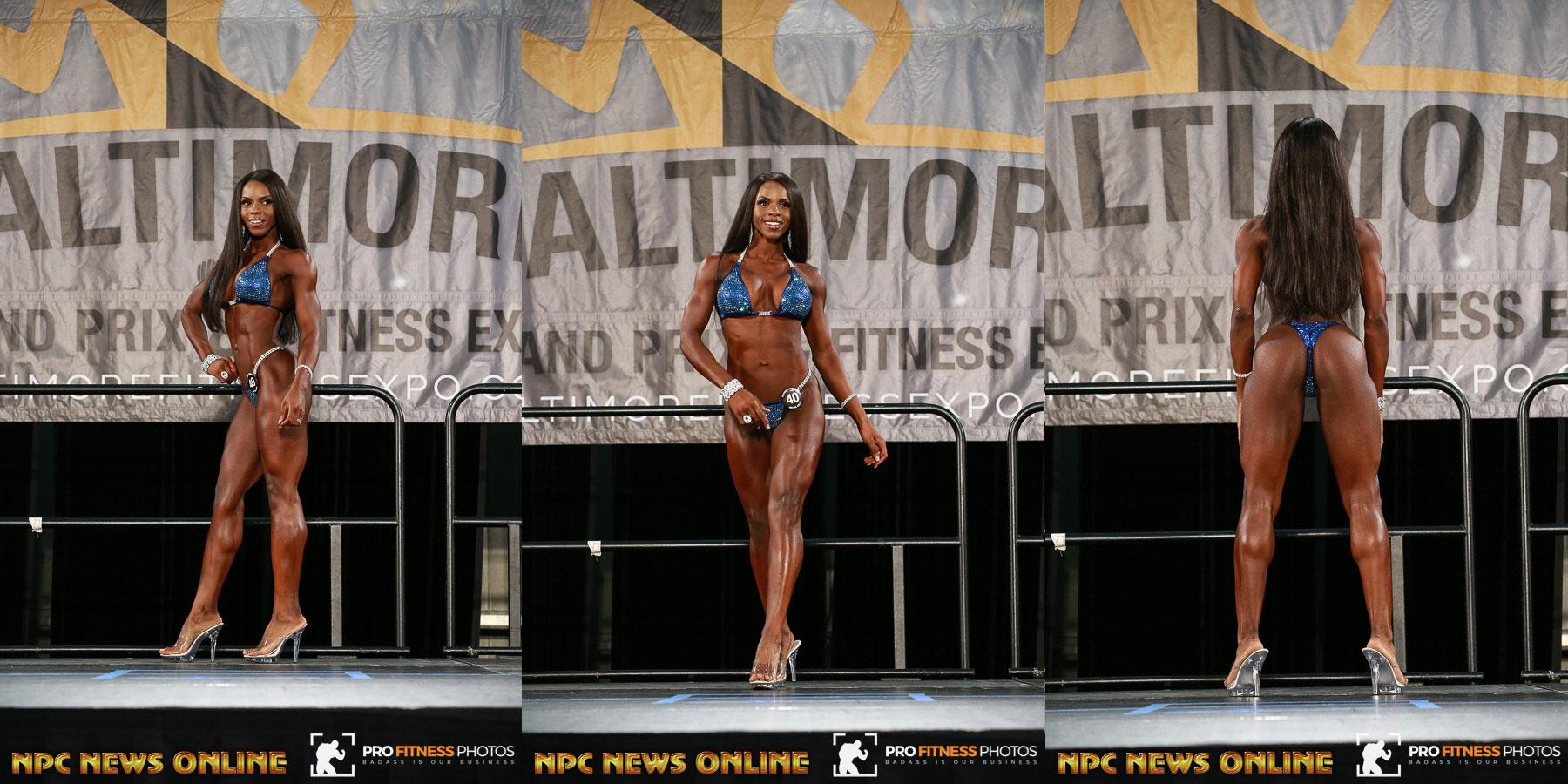 IFBB Baltimore Grand Prix - 2017 / ASHLEY JENELLE - 2 место