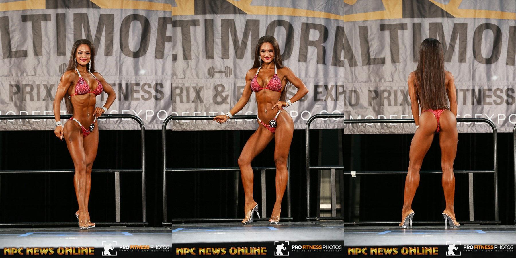 IFBB Baltimore Grand Prix - 2017 / IANA KUZNETSOVA - 6 место