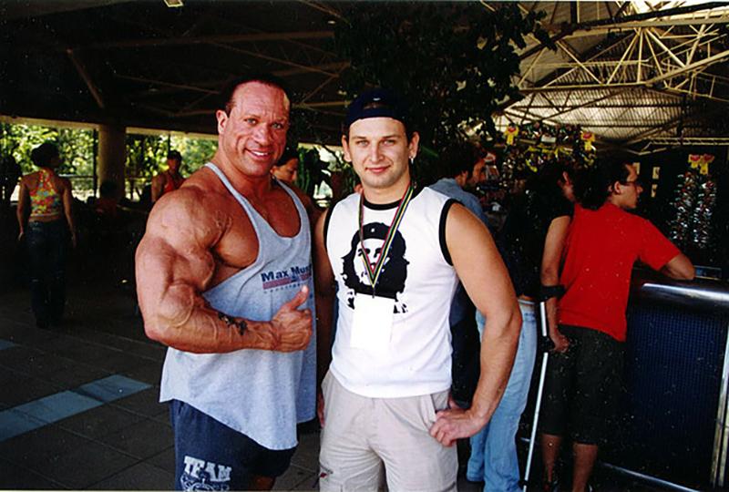 С Дэйвом Палумбо, 2004 год, Испания