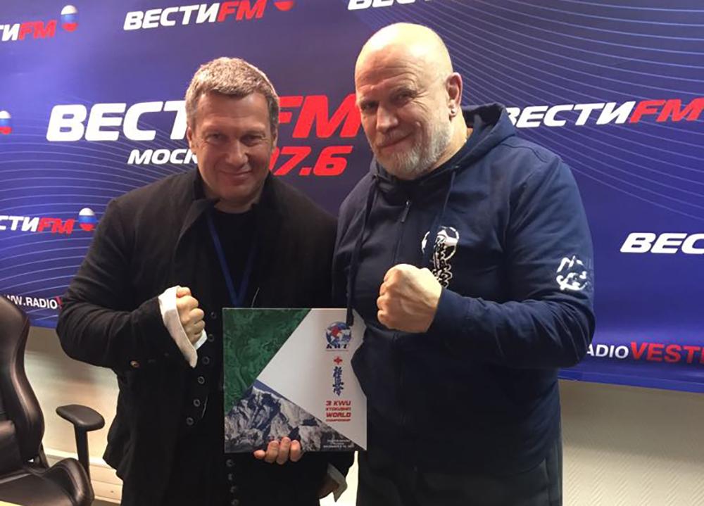 Владимир Соловьев и Игорь Петрухин