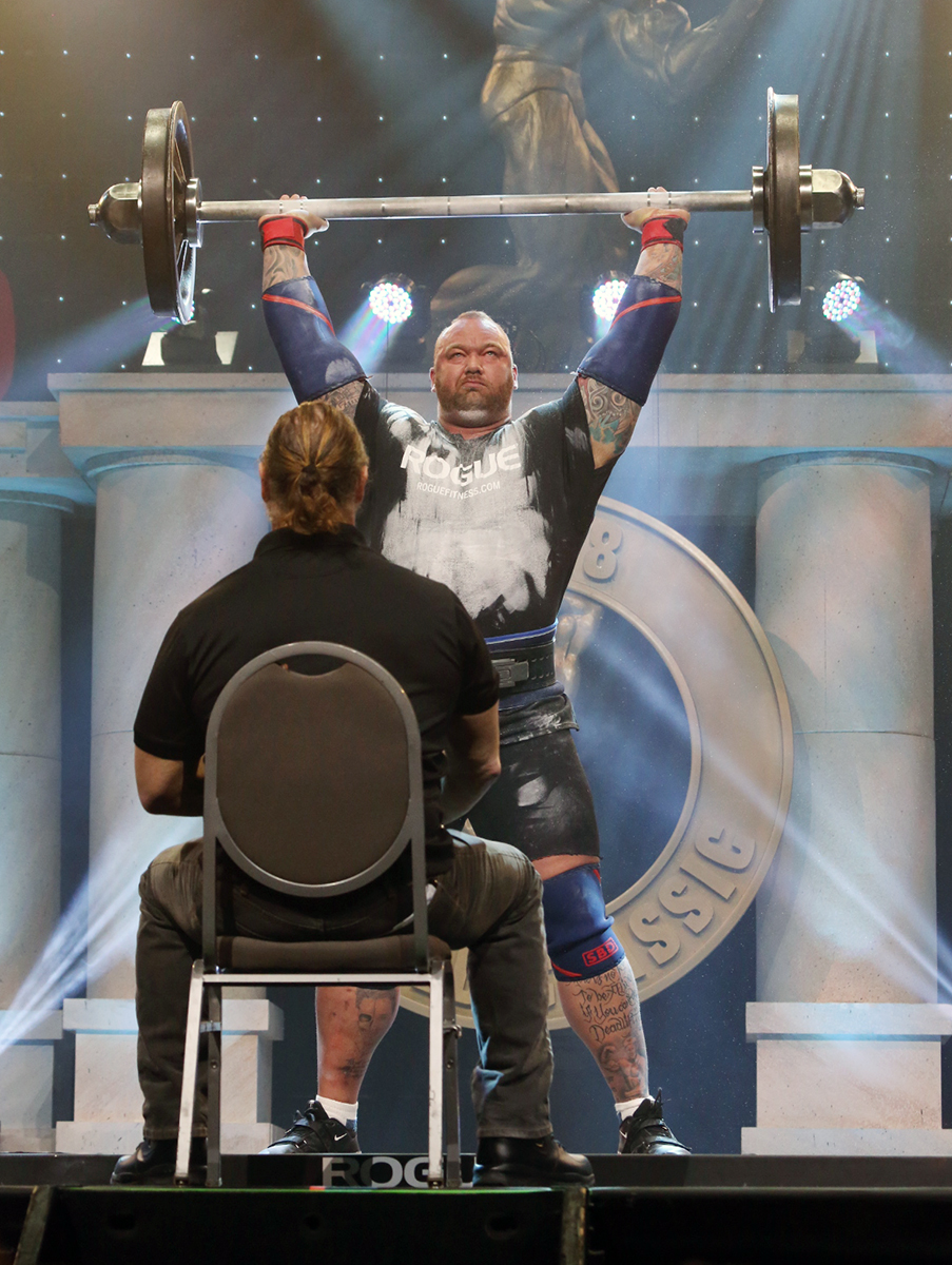 Hafthor Bjornsson Wins 1st Arnold Strongman Classic Crown