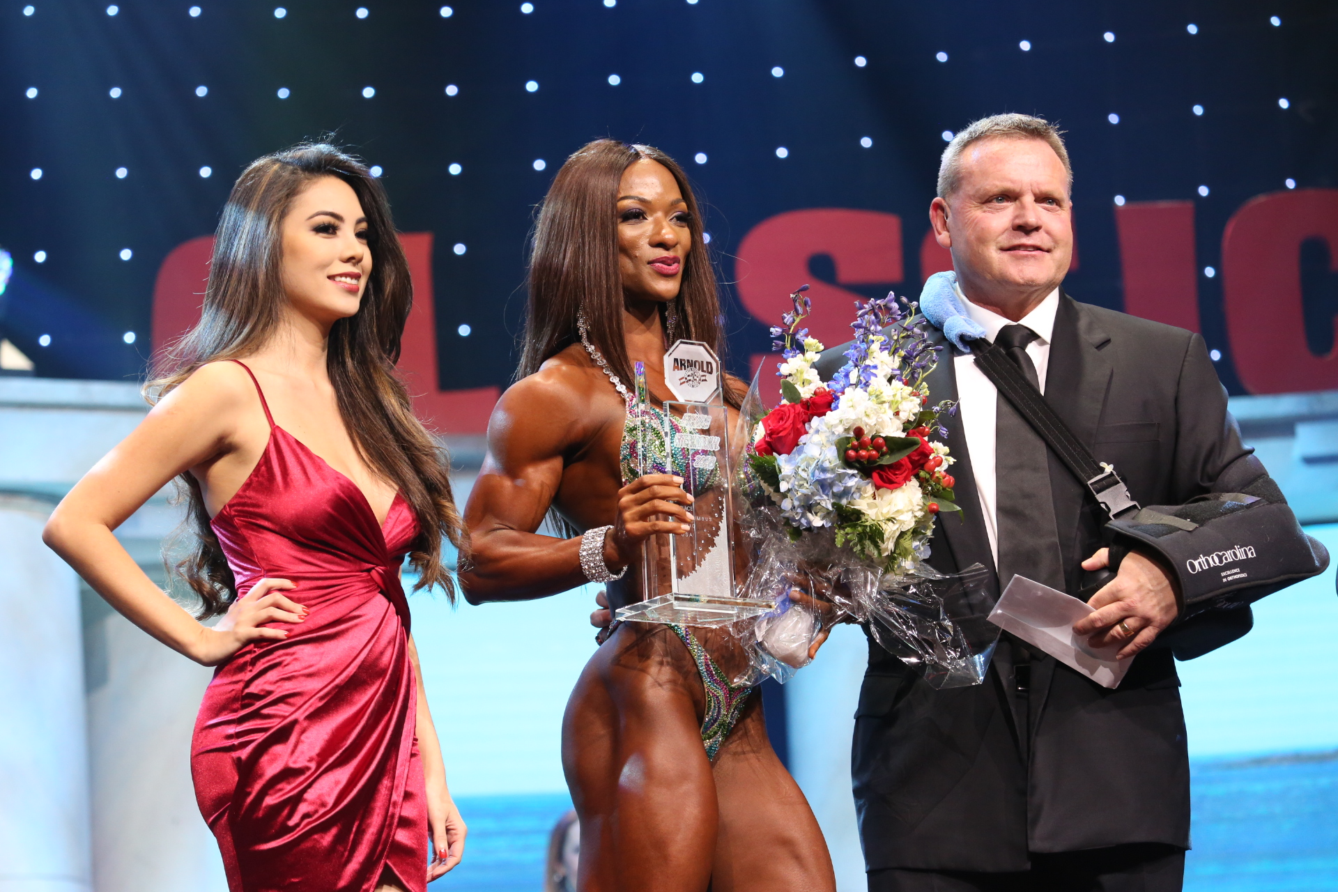 Candice Lewis-Carter Repeats As Figure International Champ