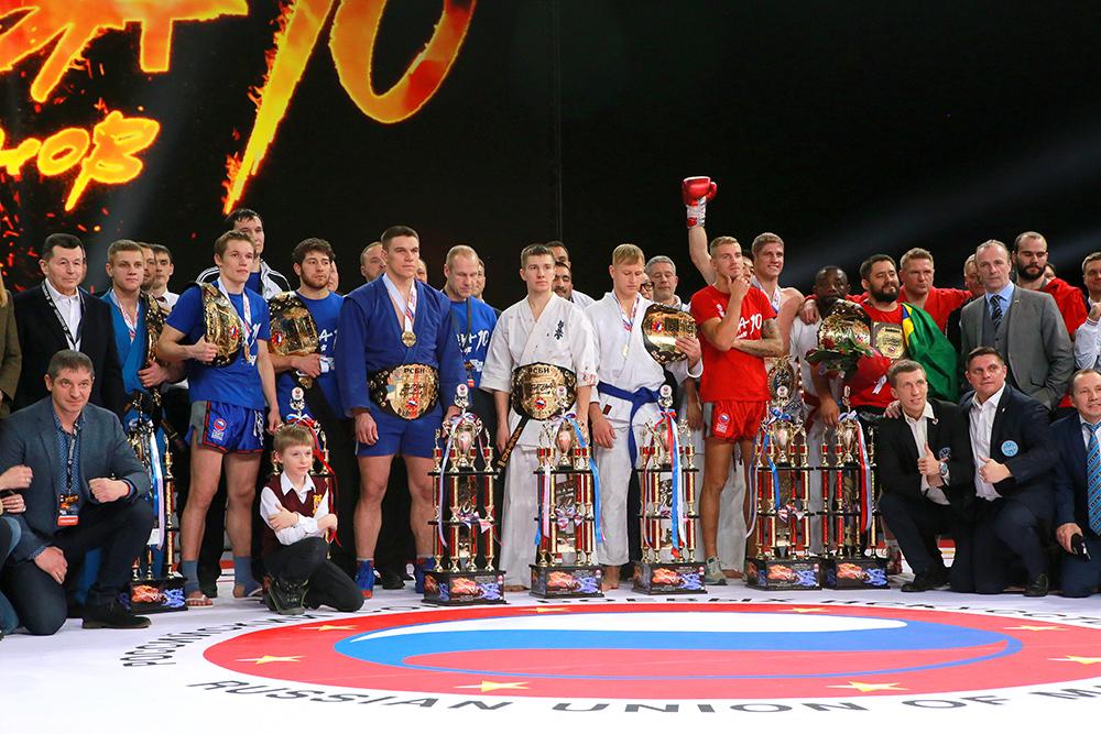 В Москве состоялась «Битва Чемпионов 10»