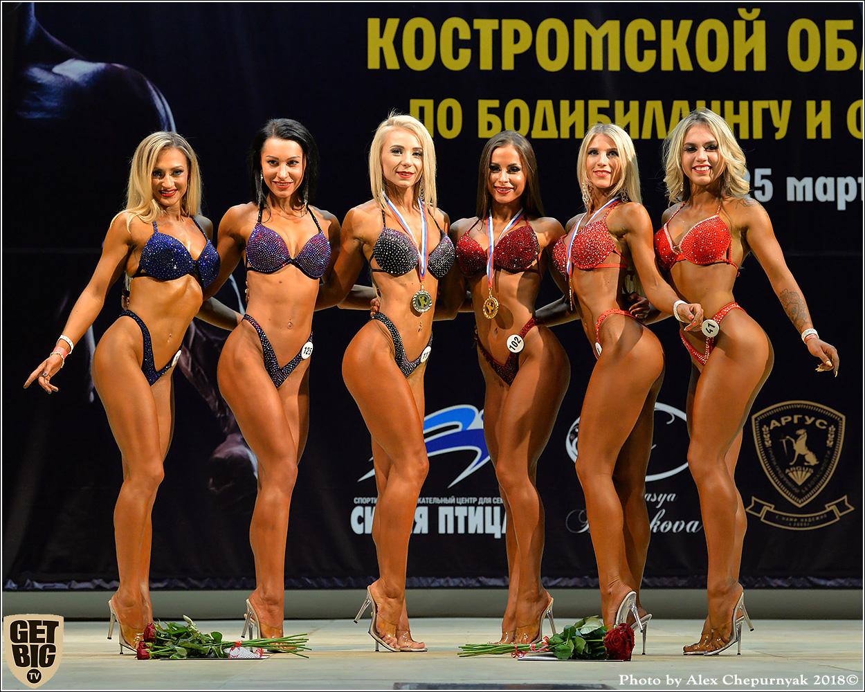 Кубок Костромской области по бодибилдингу - 2018