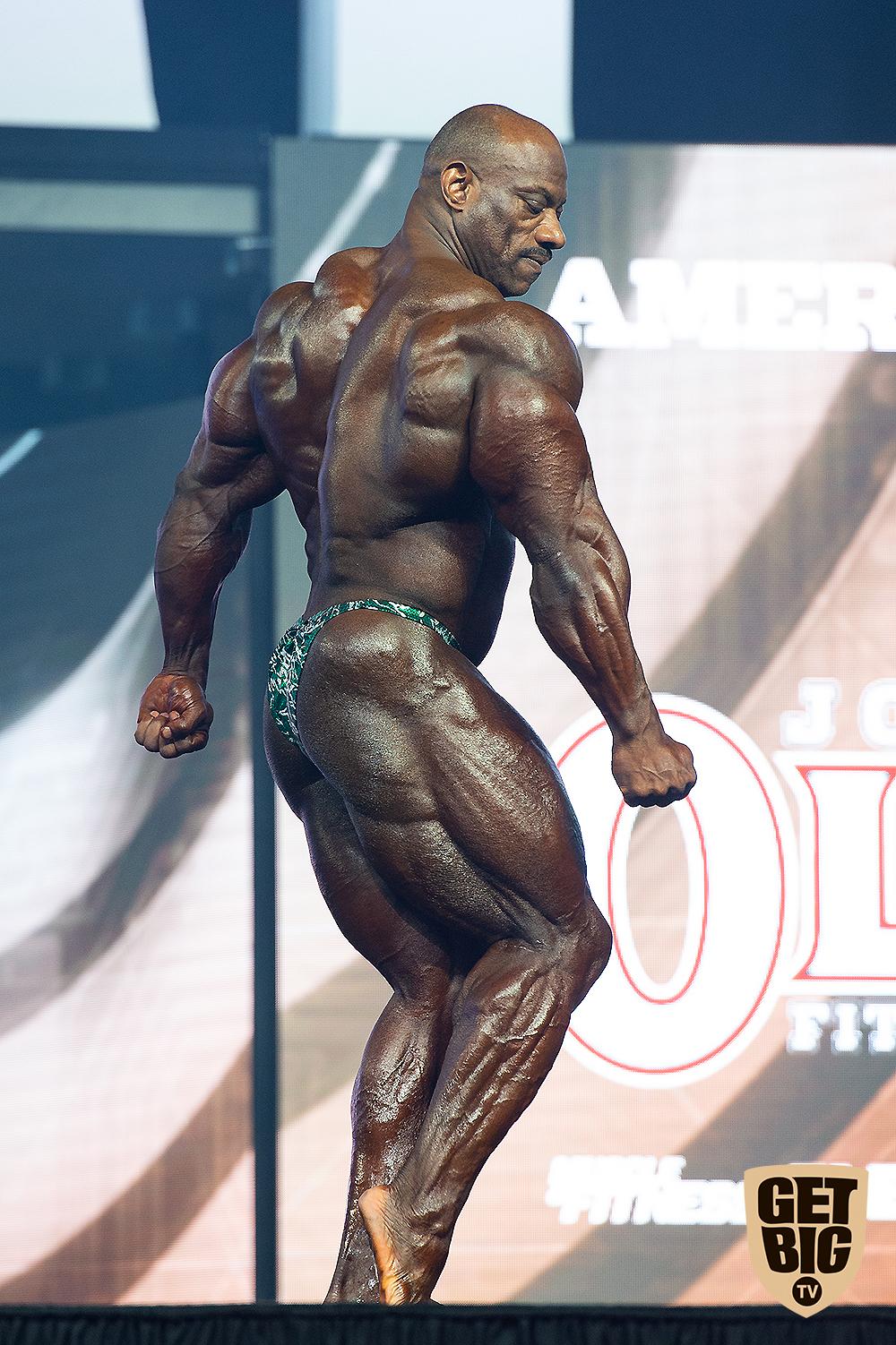 Декстер Джексон на «Мистер Олимпия»-2018