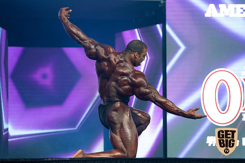 Седрик Макмиллан на «Мистер Олимпия»-2018