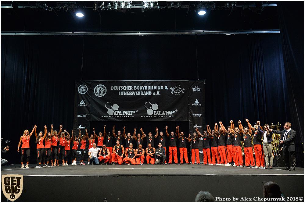 Открытый чемпионат Германии по бодибилдингу - 2018