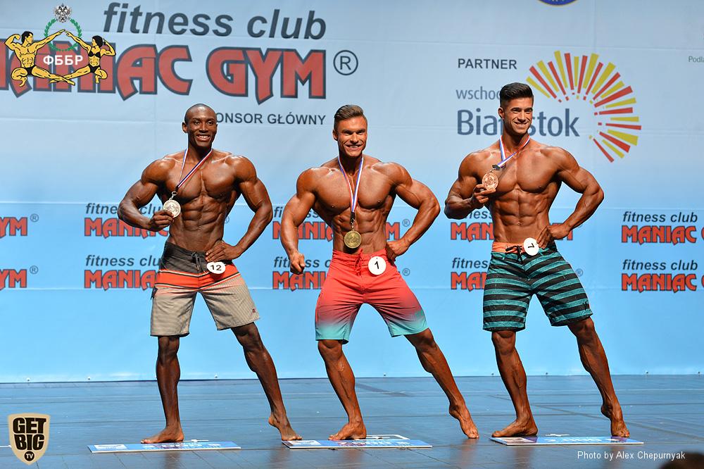 Правила IFBB: Men's Physique - пляжный бодибилдинг