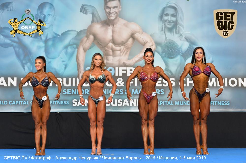 В абсолютной категории бодифитнес - 2 россиянки!
