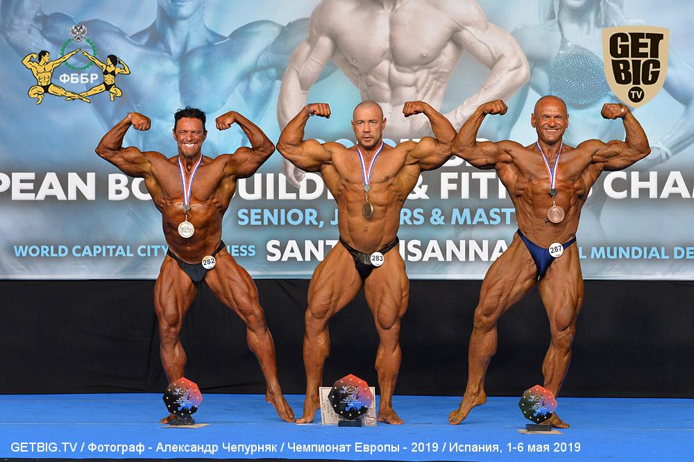 Алексей Тронов - 1 место, Master Men's Bodybuilding 45-49 Years over 80 kg