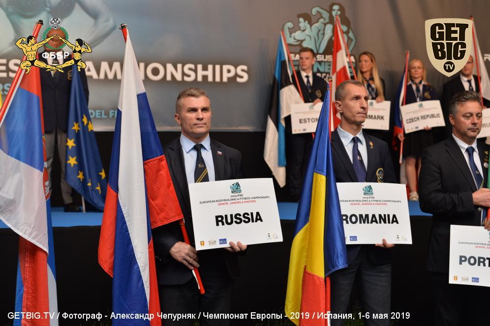 Итоги выступления сборной ФББР на чемпионате Европы IFBB - 2019