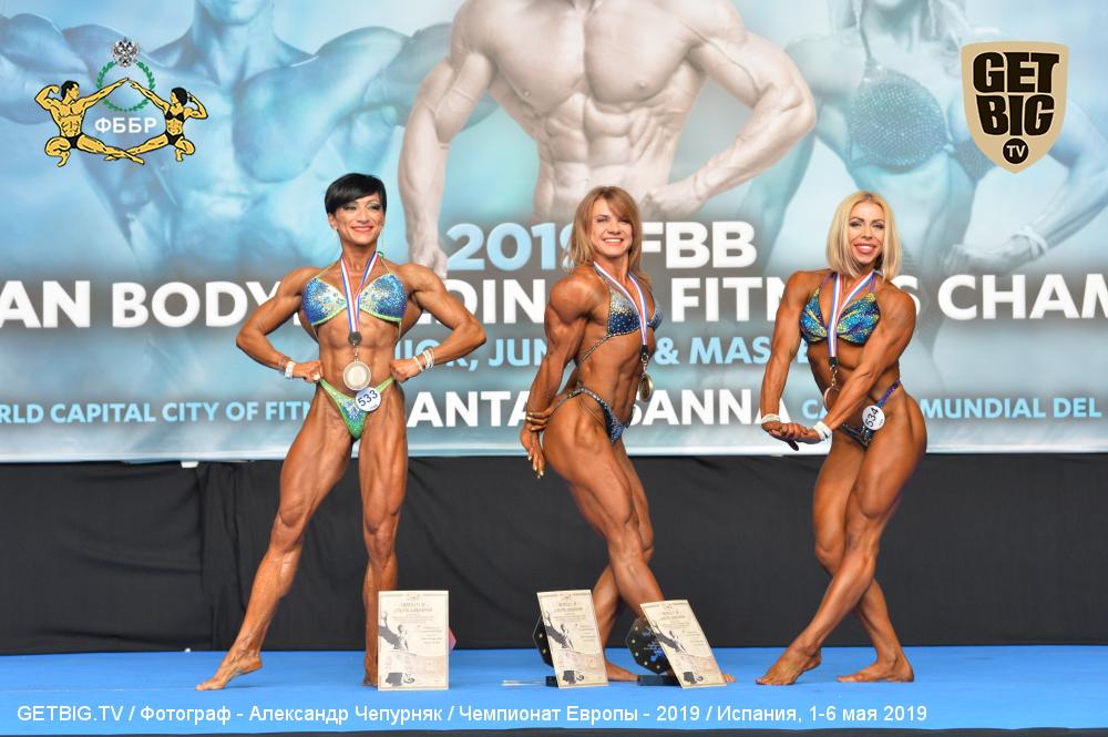 Елена Лазарева - 1 место, Master Women