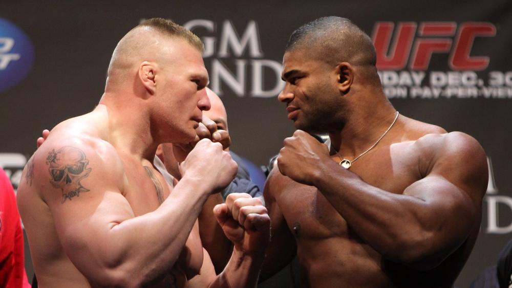 Алистар Оверим vs Брок Леснар - бойцы UFC, которых ловили на допинге