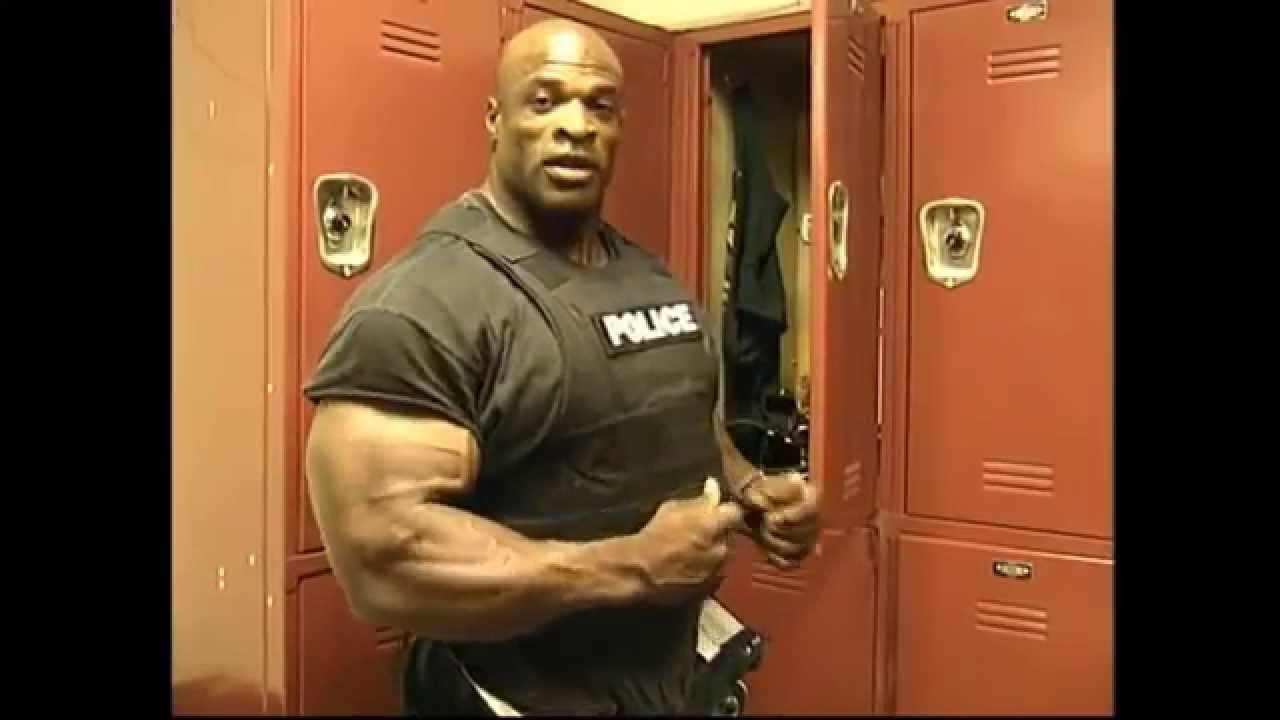 Ронни Коулмэн - восьмикратный «Мистер Олимпия» и офицер полиции