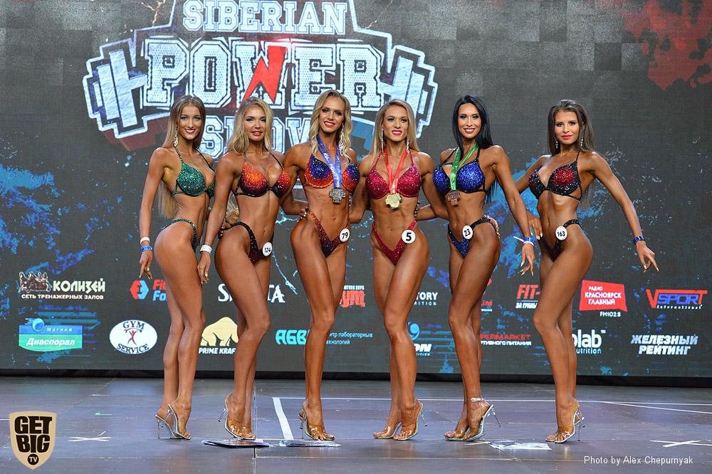 Фитнес-бикини на «Siberian Power Show» - 2019
