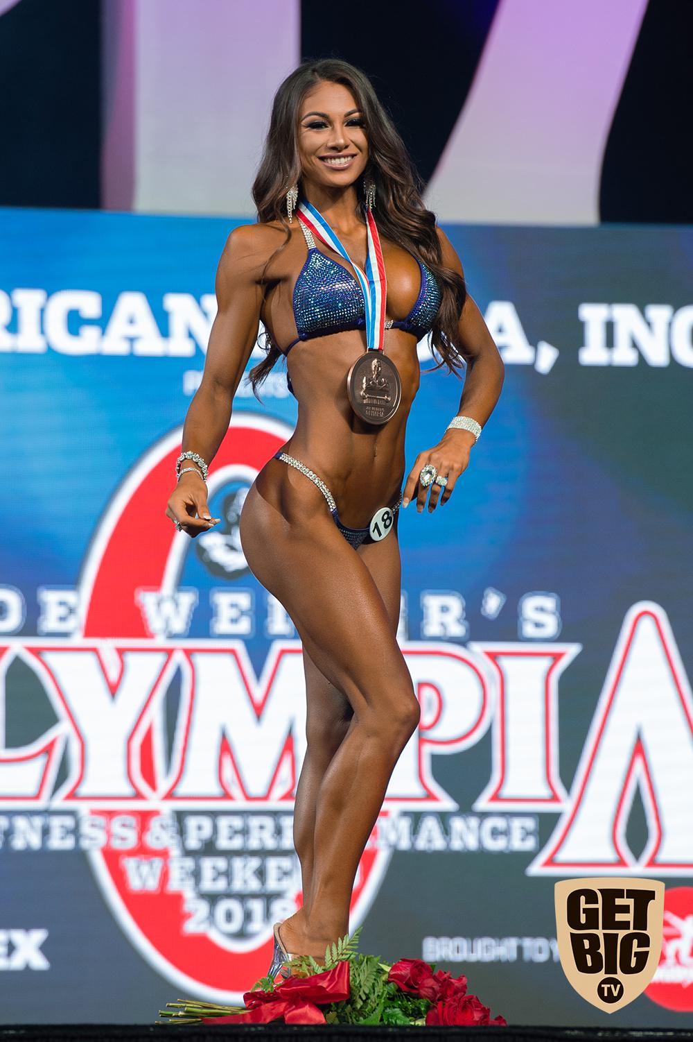 Janet Layug / USA - 3 место «Bikini Olympia»-2018