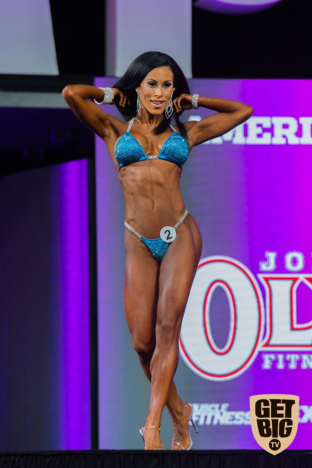 Romina Basualdo / USA - 7 место «Bikini Olympia»-2018