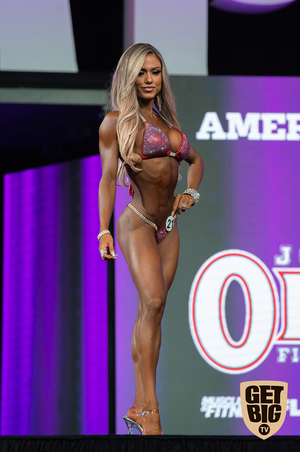 Raphaela Milagres / USA - 8 место «Bikini Olympia»-2018