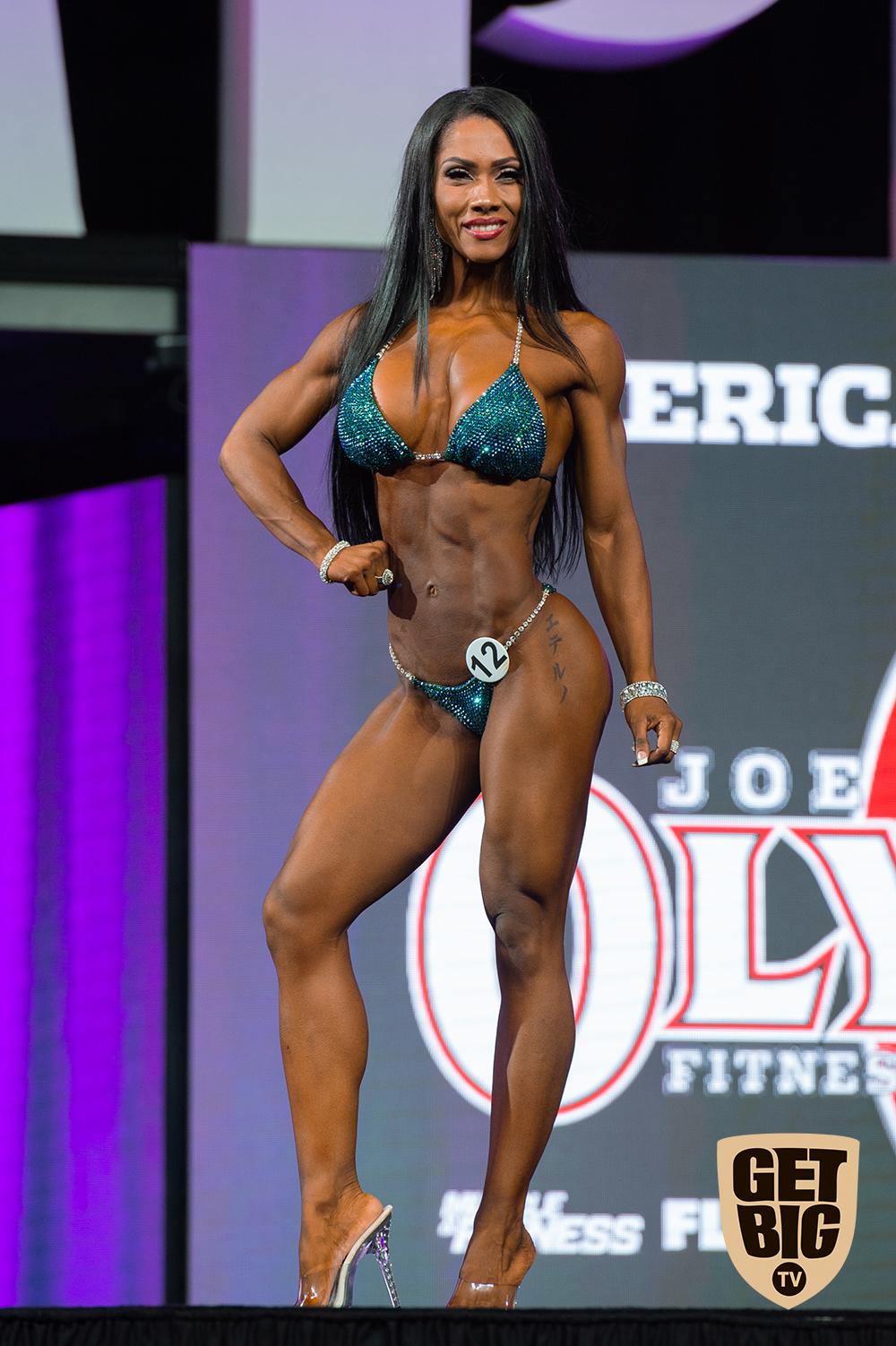 Marcia Goncalves / USA - 9 место «Bikini Olympia»-2018