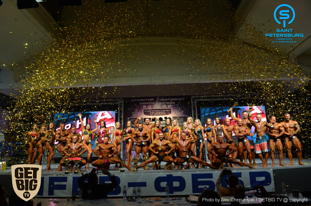 Положение: Чемпионат Санкт-Петербурга по бодибилдингу - 2019