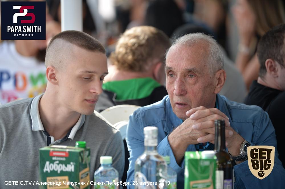Ежегодная встреча Федерации Бодибилдинга Санкт-Петербурга на корабле, 23 августа 2019