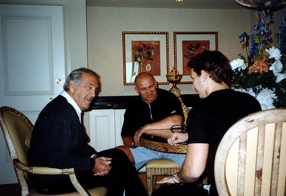Бен Уайдер, Игорь Петрухин и Роман Джабелов, Олимпия-1999, Лас-Вегас