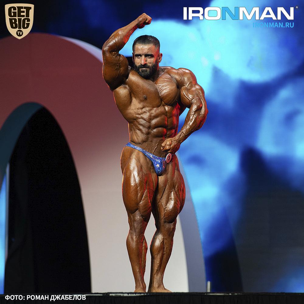 Хади Чупан на «Мистер Олимпия» - 2019