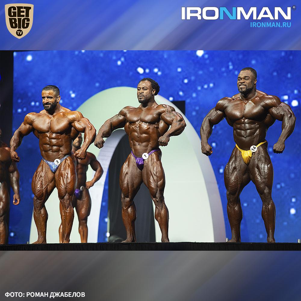 ТОП-3 «Олимпии» - 2019: Брэндон Кёрри, Уильям Бонак и Хади Чупан