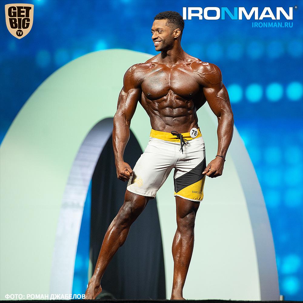 Рэймонт Эдмондс / Raymont Edmonds - чемпион 2019 Men