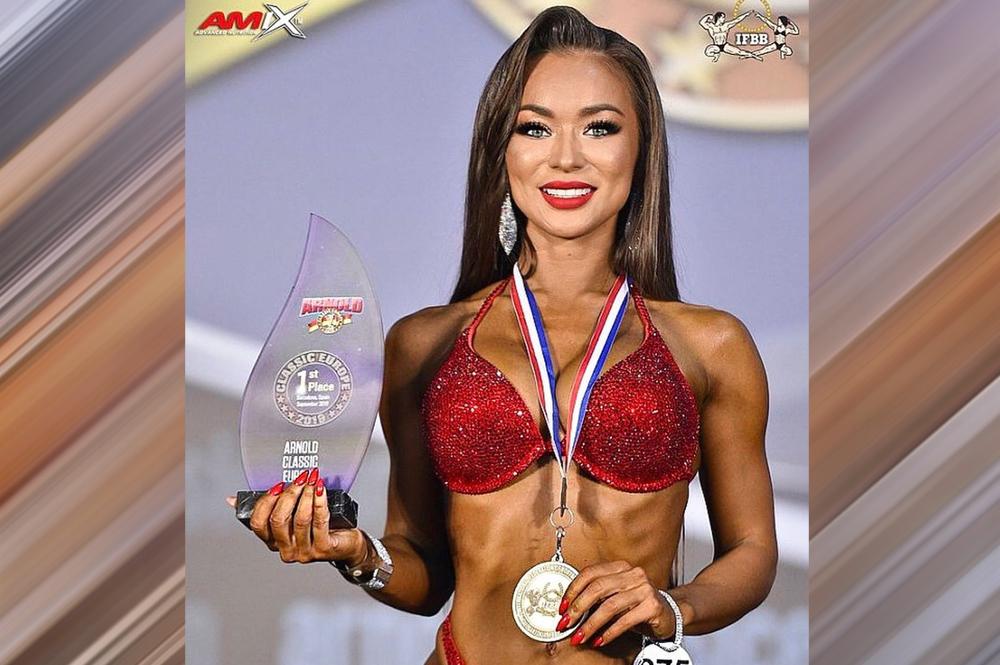 Мария Ма-Син-Чер - 1 место, фитнес-бикини до 164 см