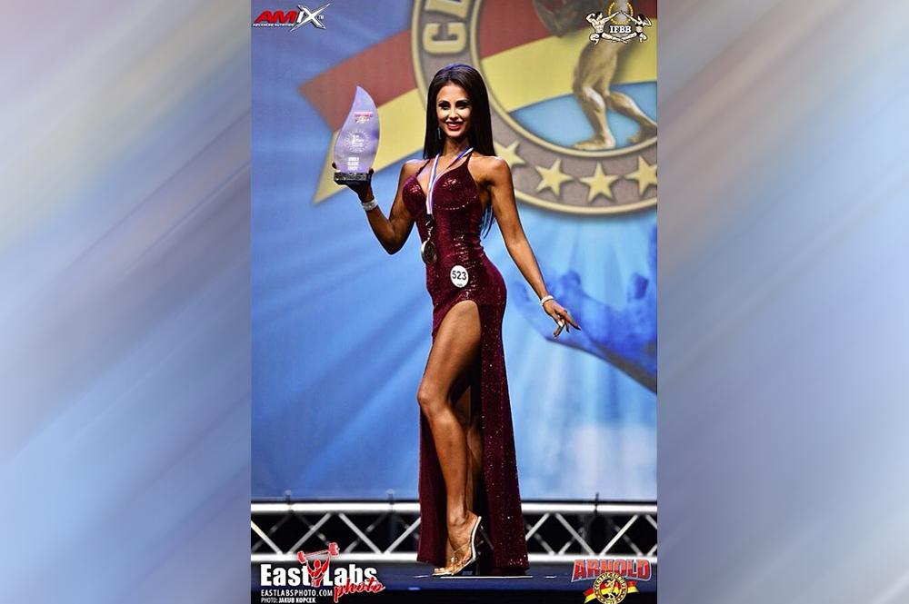 Анастасия Люкшинова - 1 место, фит-модель до 166 см