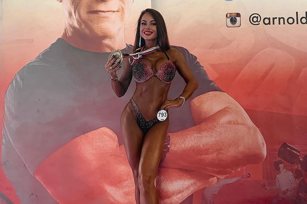 Мария Галицкова, фитнес бикини мастера абсолютная победительница