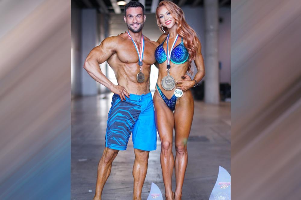 Александр Шацман - 1 место, менс физик мускуляр свыше 175 см