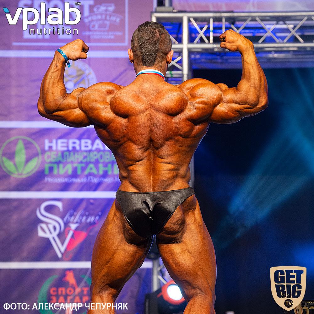 Александр Мартынкин - абсолютный чемпион Санкт-Петербурга по бодибилдингу - 2019
