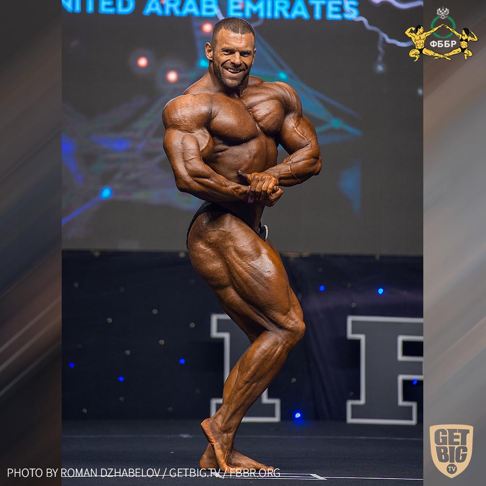 Михаил Сазонов - 4 место на Чемпионате мира по бодибилдингу - 2019 в категории свыше 100 кг