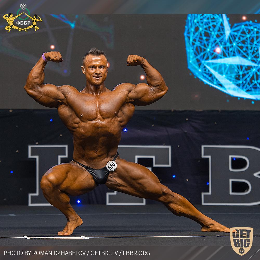 Владимир Беляев - 3 место на Чемпионате мира по бодибилдингу - 2019 в категории до 95 кг