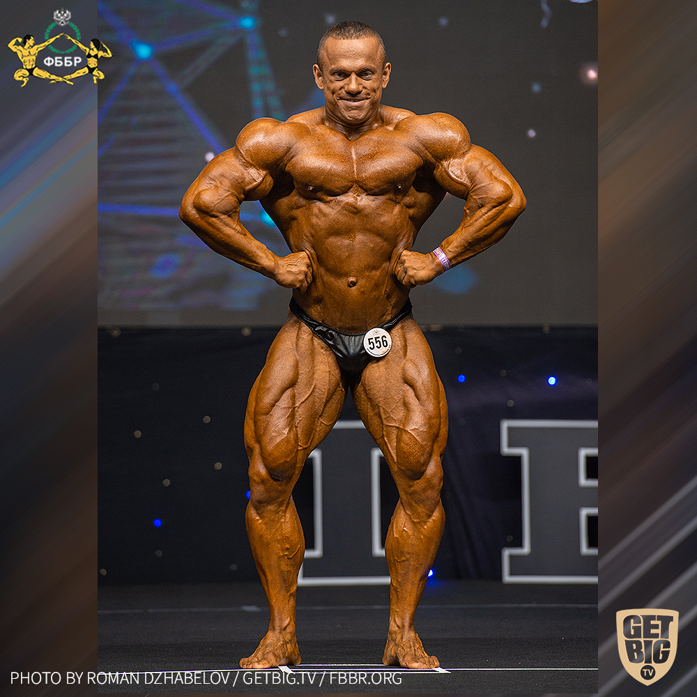 Александр Мартынкин - 4 место на Чемпионате мира по бодибилдингу - 2019 в категории до 95 кг